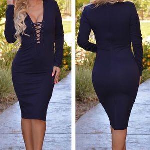 Dresses & Skirts - Navy blue bress
